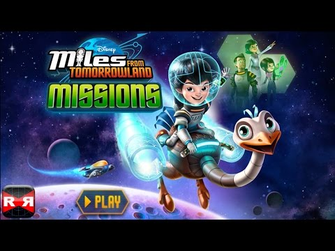 Miles From Tomorrowland: Missions (by Disney) - iOS - iPhone/iPad/iPod Touch Gameplay