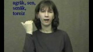 agraak Язык жестов знаков латышский жесты латышские