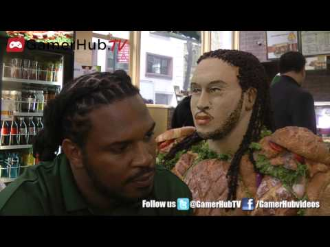 Pittsburgh Steelers Jarvis Jones Talks NFL, Subway and Madden 25 - Gamerhubtv