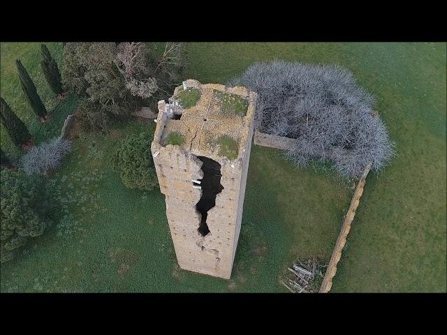 Video Ricognizione Aerea - Archeologia - Volta  Apicale Torre Maggiore Pomezia