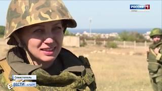 В Севастополе стартовали курсы военной подготовки для женщин