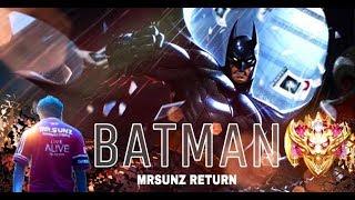 ROV : BATMAN RETURN เลนกลาง // แรงค์คอนดาวจะขึ้นหรือดาวจะร่วง