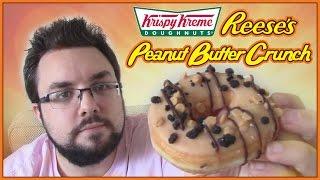 Krispy Kreme Reese's Peanut Butter Crunch Doughnut Review