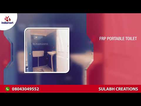 FRP Portable Toilet And Cabins Manufacturer