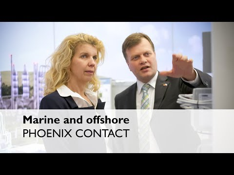 Marine and offshore: Shipping industry and offshore platform solutions by PHOENIX CONTACT