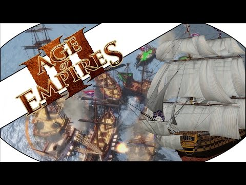 NAVAL INVASION - Age of Empires III Multiplayer Gameplay!