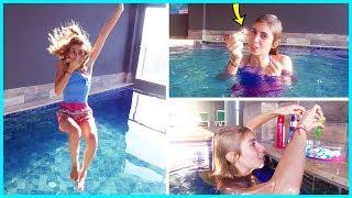 Havuzda Slime Challenge Slime Malzemesi 1 TL Eğlenceli Çocuk Videosu Dila Kent