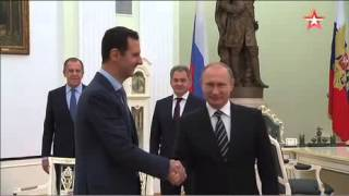 Медведев рассказал об абсолютном спокойствии Асада во время визита в Москву