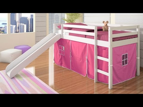 Cool Bunk Beds With Slide Idea Youtube