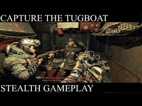 Metro Exodus: Capture The Tugboat (No Kills & Knock Out)