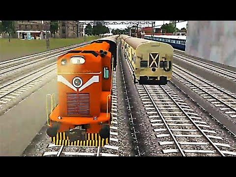 Indian Train Simulator - WDG-3A Palace on Wheels - Dahod to Ratlam