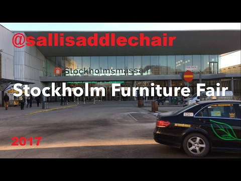 Stockholm Furniture Fair 7-11 februari 2017 @sallisaddlechair