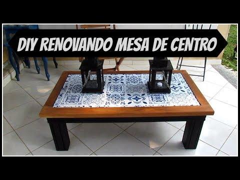 DIY |REFORMANDO A MESA DE CENTRO | LETICIA ARTES