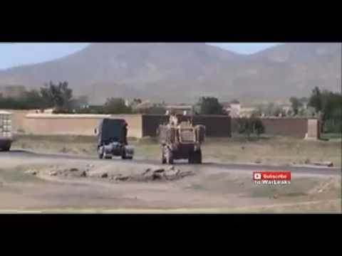 IED EXPLOSION AFGHANISTAN