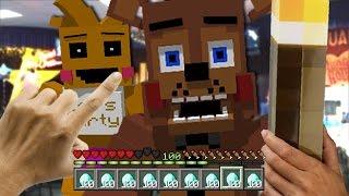 Realistic Minecraft - REALISTIC FNAF FREDDY FAZBEAR'S IN MINECRAFT !? - (Minecraft Roleplay)