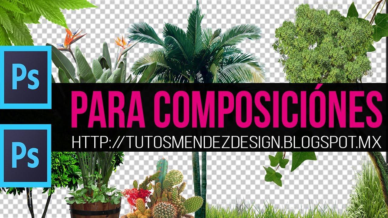 Pack de materiales para photoshop vegetaci n 2015 youtube - Materiales para encimeras de cocina ...