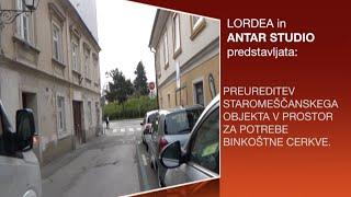 Antar Studio - Prenova: Binkoštna cerkev, Ptuj