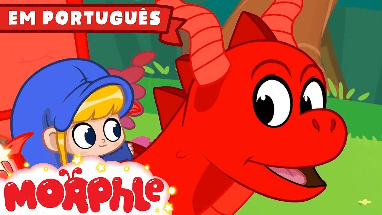 Morphle, o viajante do tempo!!  - Morphle em Português | Desenhos em Portugues | Desenhos