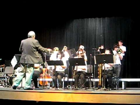 The Wilson Middle School Jazz Band Playing Georgia