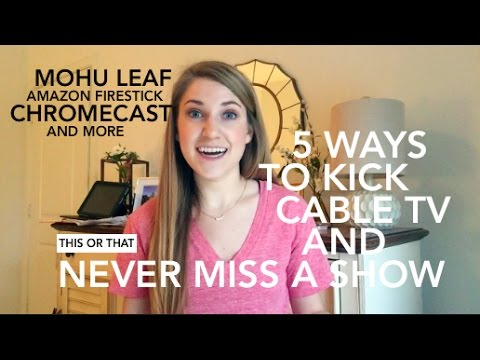 Best Cable TV Alternatives  This or That
