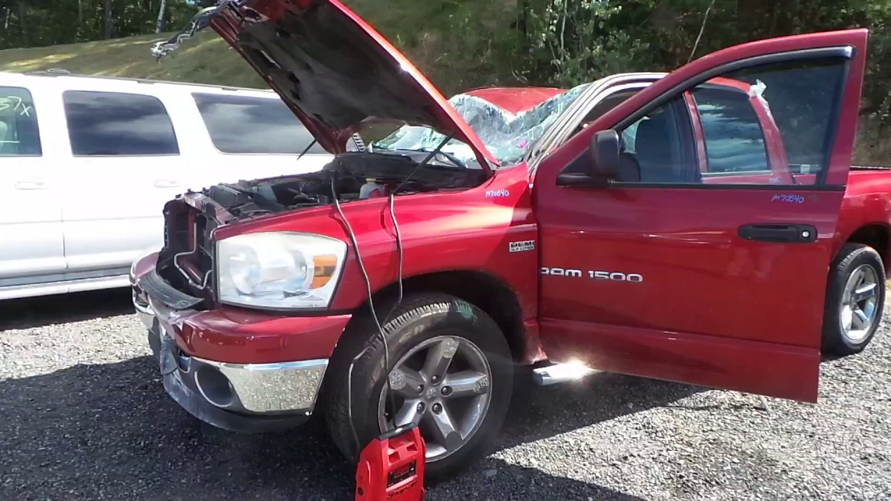 Parting Out 2007 Dodge Ram 1500 | Stock # M70840