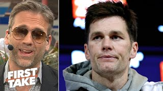 Tom Brady is 'begging for attention' with his Instagram picture - Max Kellerman | First Take