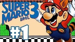SUPER MARIO BROS 3 #1 - GAMEPLAY DO INÍCIO
