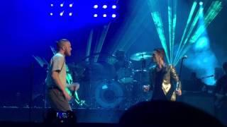 Dan Reynolds Of Imagine Dragons The Killers Jenny Was A Friend Of Mine Live 4 6 16 Vegas