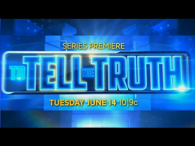 ABC To Tell The Truth - Premieres June 14th