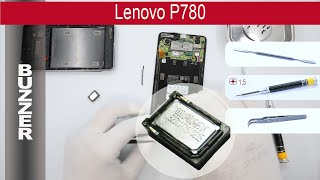 How to replace 🔧 📱 📢 Buzzer (Ringer) Lenovo P780(, 2015-04-21T16:27:56.000Z)
