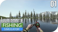ULTIMATE FISHING SIMULATOR #1 - EIN ERSTER BLICK INS SPIEL! 🎣    CLOSED BETA    PantoffelPlays