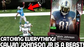 CALVIN JOHNSON JR CATCHES EVERYTHING! MOST FEARED MEGATRON! Madden 19 Ultimate Team