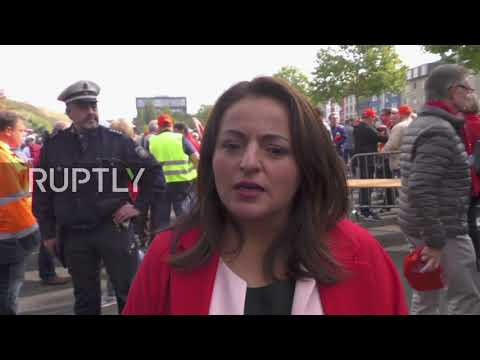 Germany: ThyssenKrupp workers rally in Bochum against Tata Steel merger plans