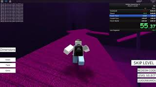 Roblox Speed Run 4 - Any% 5 Levels 2:01:364