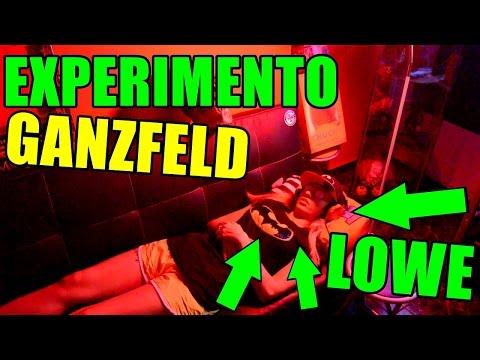 EXPERIMENTO GANZFELD   Lowe tiene una pesadilla con los payasos asesinos - Experimentos con youman