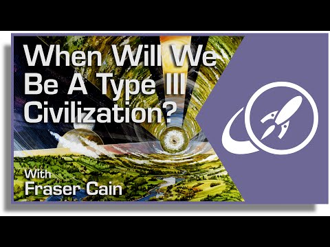 When Will We Be a Type III Civilization? Controlling All The Energy of the Milky Way