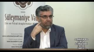 Kuran Sohbetleri Aliimran Suresi 185-186.Ayet-Abdülaziz BAYINDIR