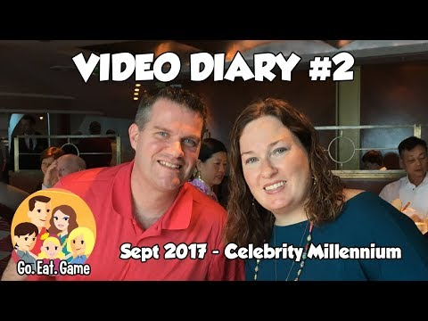 Life on a Cruise Ship! - Video Diary 2 - Celebrity Millennium