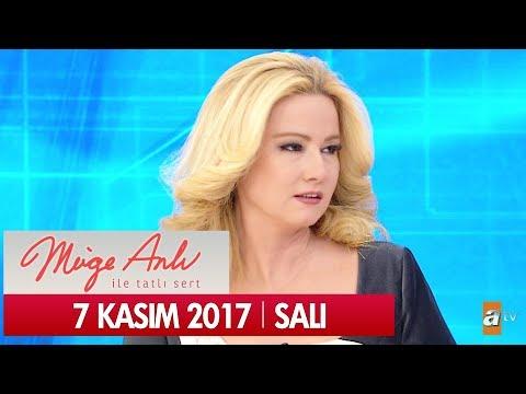 Müge Anlı ile Tatlı Sert 7 Kasım 2017 - Tek Parça