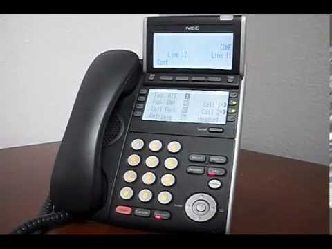 How to Make a Conference Call on SV8100/SV9100 NEC Phone System