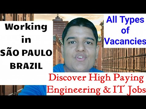 Job Market - São Paulo | Huge Vacancies | Discover High Paying Engineering & IT Openings