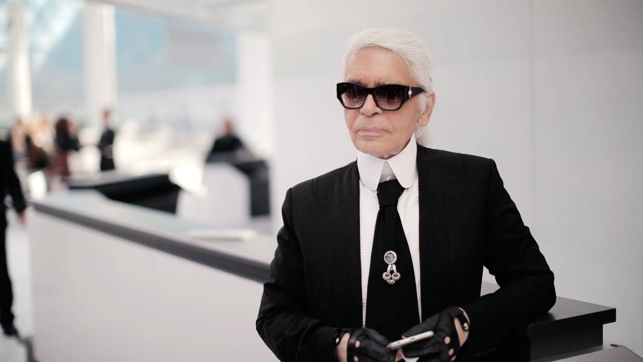 Karl Lagerfeld's Interview - Spring-Summer 2016 Ready-to-Wear CHANEL show