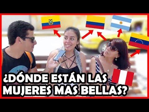 ¿Qué país tiene las Mujeres más BELLAS de Latinoamérica? | Peruvian Life