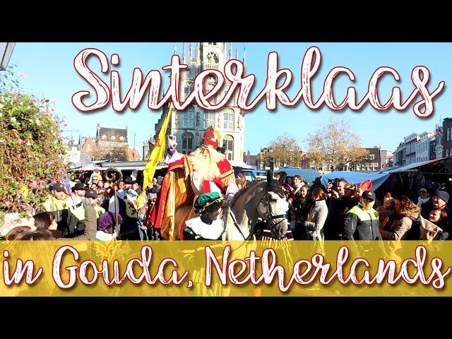 Sinterklaas Parade in Gouda, Netherlands
