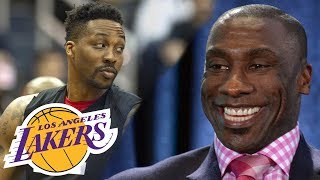 Shannon Sharpe's MUST SEE reaction to Lakers signing Dwight Howard (FUNNY!)