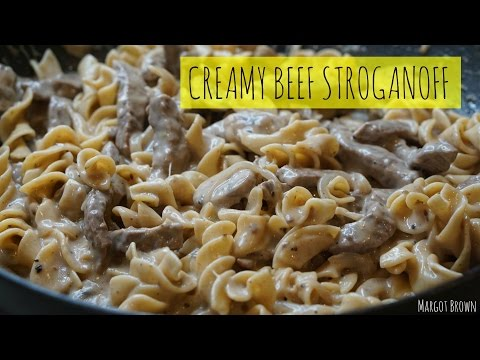 Creamy Beef Stroganoff | Margot Brown