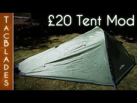 Cheap Tent Mods Part 1 : Wild Camping