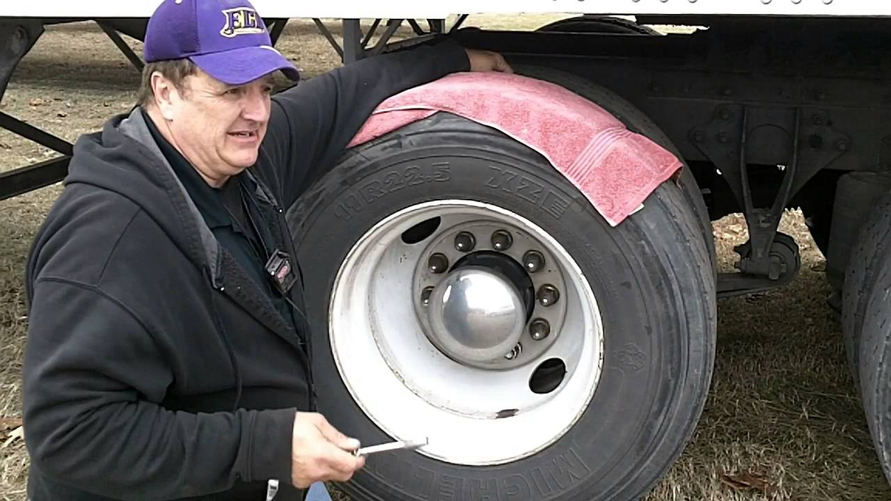 Tractor And Trailer Tire Pressure