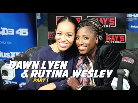 Dawn Lyen & Rutina Wesley Interview on Sway In The Morning Part 1