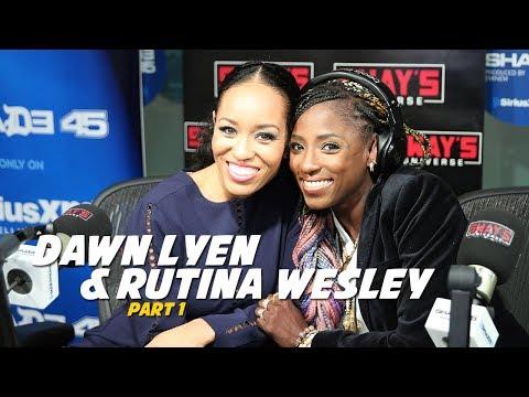 Dawn Lyen & Rutina Wesley  on Sway In The Morning Part 1